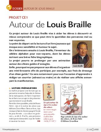 Autour De Louis Braille Dossier Fichesp 233 Dagogiques Com