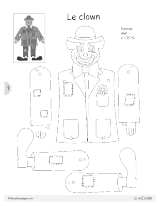 fabriquer un pantin articul fichesp. Black Bedroom Furniture Sets. Home Design Ideas