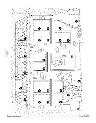 le calendrier de l 39 avent l 39 anglais par le jeu fichesp. Black Bedroom Furniture Sets. Home Design Ideas