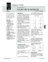 Le jeu de la lanterne