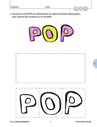 Pop mange de toutes les couleurs fichesp - Les couleurs de l ete ...
