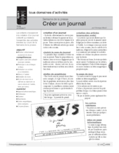 Presse 5 cr ations partir de papier journal fichesp - Comment creer un journal ...