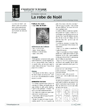 Animation lecture (4) / La robe de Noël