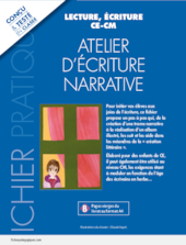 Atelier d'écriture narrative