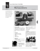 Ateliers autonomes (13) / Manipulations