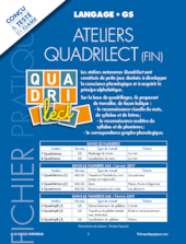 Ateliers Quadrilect GS