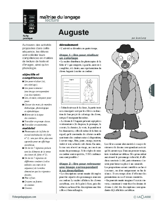 Auguste (lecture)