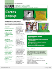 Cartes pop up