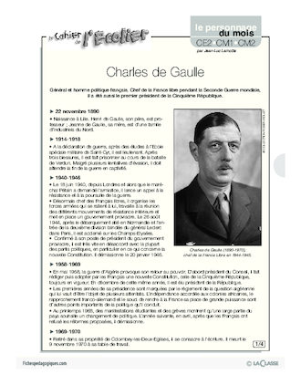 charles de gaulle biography pdf