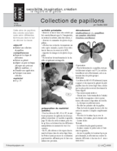 Collection de papillons