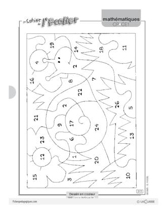 Coloriage magique 8 fichesp - Coloriage magique pdf ...