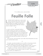 Feuille folle (conte)