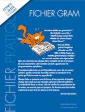 Fichier grammaire cycle 3