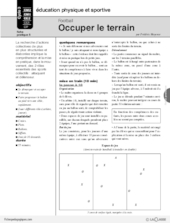 Football (5) / Occuper le terrain