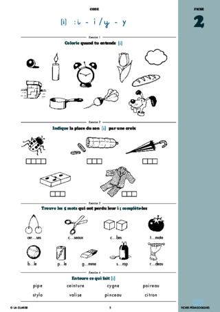 Français CP phonologie et code ~ Cahiers malins ...