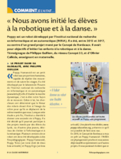 Initiation à la danse et à la robotique