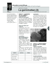 Jardiner (4) / La germination (3)