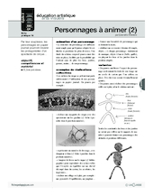 Journal (14) / Personnages à animer (2)