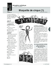 Journal (15) / Maquette de cirque (1)