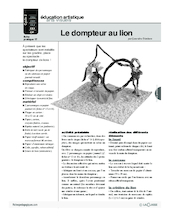 Journal (17) / Le dompteur au lion