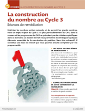 La construction du nombre au Cycle 3 (dossier)