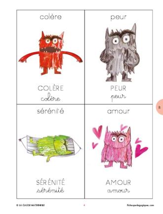La couleur des émotions - FichesPédagogiques.com