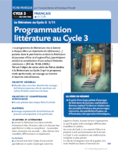 La littérature au cycle 3 (1)