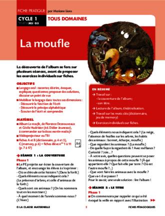 photos officielles nouveau pas cher nouveau produit La moufle - FichesPédagogiques.com