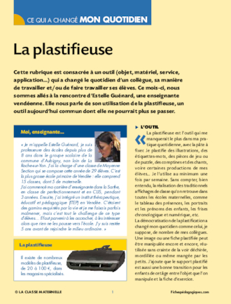 La plastifieuse