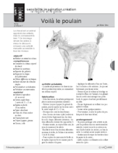 Le cheval (1) : animal en volume