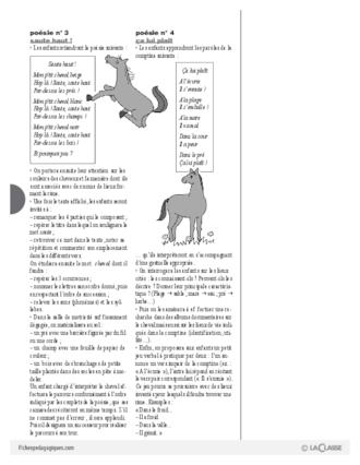 Top Le cheval (4) : activités - FichesPédagogiques.com OL05