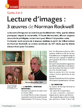 Lecture d'images : 3 oeuvres de Norman Rockwell