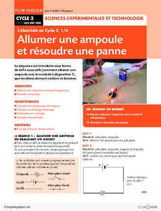 progression des apprentissage science et technologie primaire pdf
