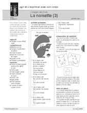 L'imagier des fruits : La noisette (3)