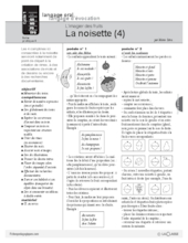 L'imagier des fruits : La noisette (4)