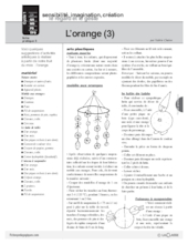 L'imagier des fruits : L'orange (3)