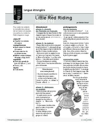 Red Riding Hood Petit Chaperon Rouge Premier Tirage 3 3