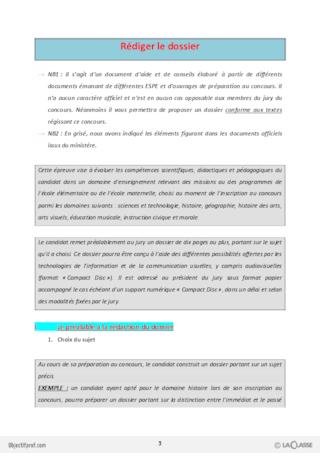 Parcours Oral CRPE - Histoire des Arts ...