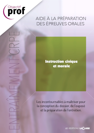 Parcours Oral CRPE - Instruction civique et morale