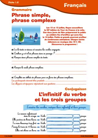 Francais Du Cm1 Au Cm2 Fichespedagogiques Com