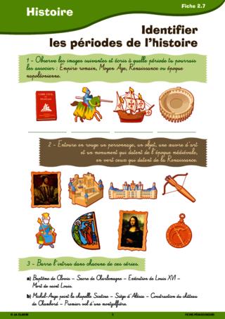 Revisions D Histoire Entre Le Cm1 Et Le Cm2 Fichespedagogiques Com