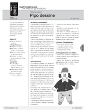Pipo le clown (2) / Pipo dessine