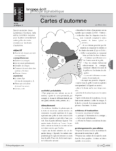 Pipo le clown (7) / Cartes d'automne