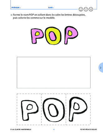 Bevorzugt Pop mange de toutes les couleurs - FichesPédagogiques.com WA62