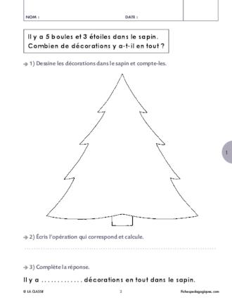 Problemes Mathematiques Cycle 2 Additions Et Soustraction Fichespedagogiques Com