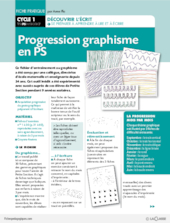 Progression graphisme en PS