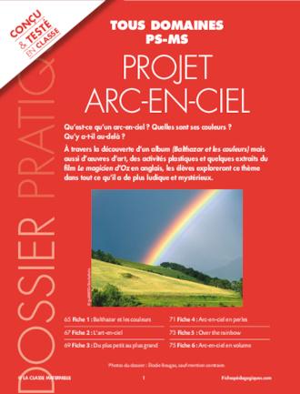 Projet Arc En Ciel Ps Ms Fichespedagogiques Com