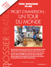 Projet d'immersion : un tour du monde