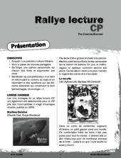 Rallye lecture CP 2012
