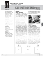 Sciences et techno (4) / La conduction électrique